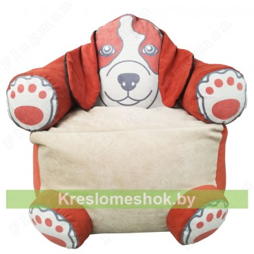 Кресло мешок Пёс Оранж