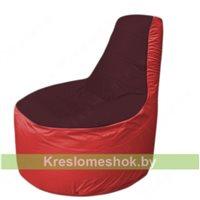 Кресло мешок Трон Т1.1-0102(бордовый-красный)