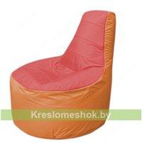 Кресло мешок Трон Т1.1-0205(красный-оранжевый)