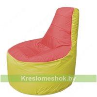 Кресло мешок Трон Т1.1-0206(красный-желтый)