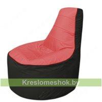 Кресло мешок Трон Т1.1-0224(красный-черный)