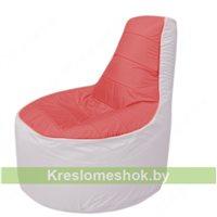 Кресло мешок Трон Т1.1-0225(красный-белый)