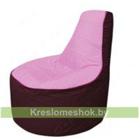 Кресло мешок Трон Т1.1-0301(розовый-бордовый)