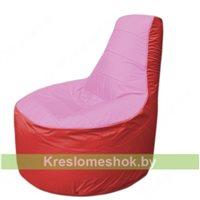 Кресло мешок Трон Т1.1-0302(розовый-красный)