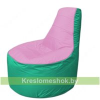Кресло мешок Трон Т1.1-0312(розовый-бирюзовый)