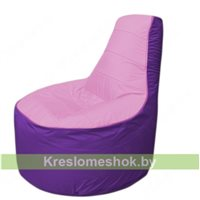 Кресло мешок Трон Т1.1-0318(розовый-фиолетовый)
