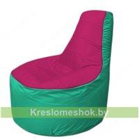 Кресло мешок Трон Т1.1-0412(фуксия-бирюзовый)