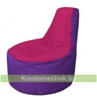 Кресло мешок Трон Т1.1-0418(фуксия-фиолетовый)