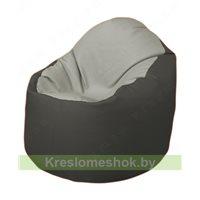 Кресло-мешок Браво Б1.3-F02F17 (светло-серый, темно-серый)