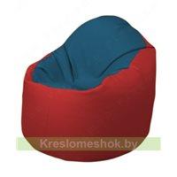 Кресло-мешок Браво Б1.3-F03F09 (синий - красный)