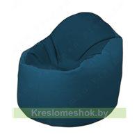 Кресло-мешок Браво Б1.3-F04F03 (темно-синий, синий)