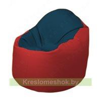 Кресло-мешок Браво Б1.3-F04F09 (темно-синий, красный)