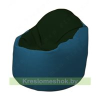 Кресло-мешок Браво Б1.3-F05F03 (темно-зеленый, синий)