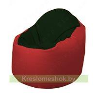 Кресло-мешок Браво Б1.3-F05F09 (темно-зеленый, красный)