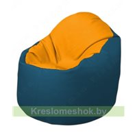 Кресло-мешок Браво Б1.3-F06F03 (желтый - синий)