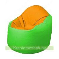 Кресло-мешок Браво Б1.3-F06F07 (желтый - салатовый)