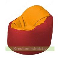 Кресло-мешок Браво Б1.3-F06F09 (желтый - красный)
