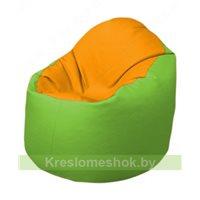 Кресло-мешок Браво Б1.3-F06F19 (желтый - салатовый)