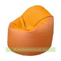 Кресло-мешок Браво Б1.3-F06F20 (желтый - оранжевый)