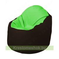 Кресло-мешок Браво Б1.3-F07F01 (салатовый, темно-коричневый)
