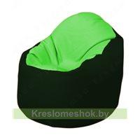 Кресло-мешок Браво Б1.3-F07F05 (салатовый, тёмно-зелёный)