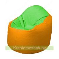 Кресло-мешок Браво Б1.3-F07F06 (салатовый - жёлтый)