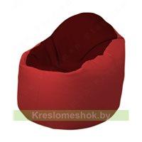 Кресло-мешок Браво Б1.3-F08F09 (бордовый - красный)
