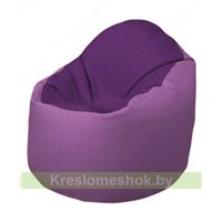Кресло-мешок Браво Б1.3-N32N67 (фиолетовый - сиреневый)