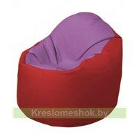 Кресло-мешок Браво Б1.3-N67N09 (сиреневый - красный)