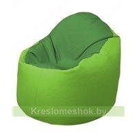 Кресло-мешок Браво Б1.3-N76N19 (зеленый - салатовый)