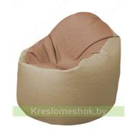 Кресло-мешок Браво Б1.3-T06Т13 (бежевый - бежевый)
