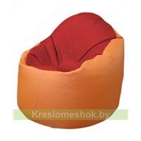 Кресло-мешок Браво Б1.3-T09Т20 (красный - оранжевый)