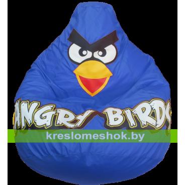 Кресло мешок Птичка синяя
