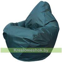 Кресло мешок Груша Мини Г0.1-05 (Зелёный тёмный)