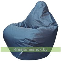 Кресло мешок Груша Мини Г0.1-11 (Серый тёмный)