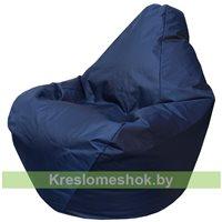 Кресло мешок Груша Мини Г0.1-14 (Синий тёмный)