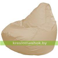 Кресло мешок Груша Макси слоновая кость