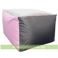 Пуфик Папед (розовый+серый+тёмно-серый)