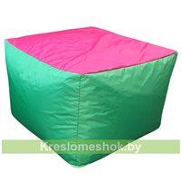 Пуфик Папед (зелёный+розовый)