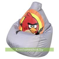 Кресло мешок Angry Birds (черный)