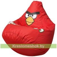 Кресло мешок Красная Птичка оксфорд