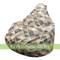 Кресло-мешок Груша Zigzag blooks 104