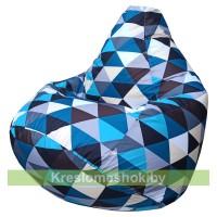 Кресло мешок Груша Макси (Голубой) Street